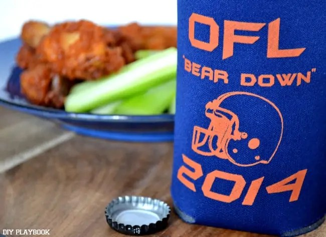 Blue-Orange-Koozie