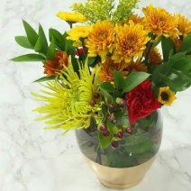 busy girl vase