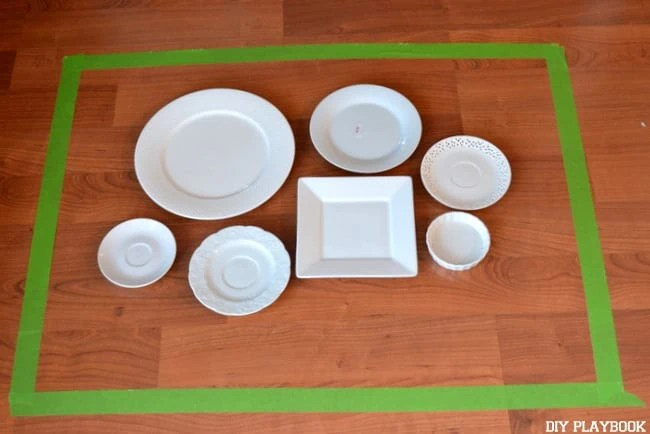 Plate-Wall-Laid-Out