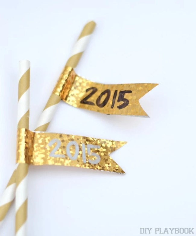 2015-Washi-Tape-Straw-Flags