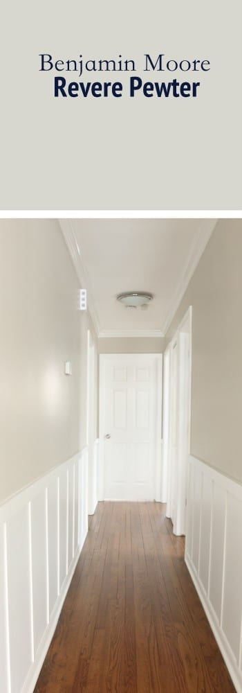 Paint Color Hallway