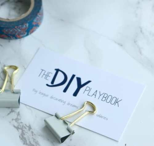 blog diy playbook business card