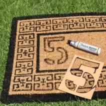 doormat tutorial step 1