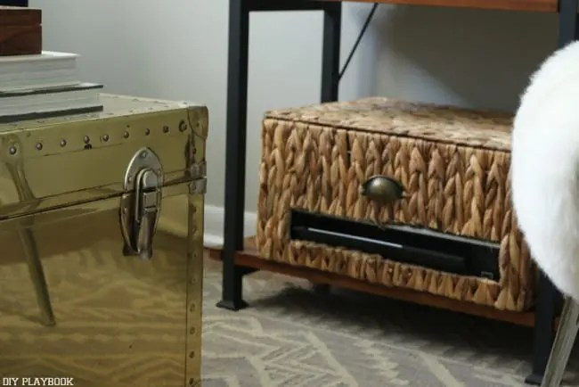 Gentil This Cool Printer Storage Idea From DIY Playbook Will Allow You To Hide  Your Printer In A Way That It Blends In Your Room Or Office Design.