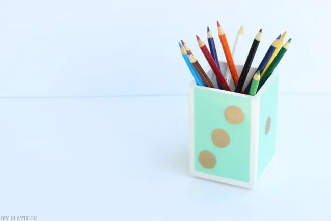 Elmer's pencil holder dorm