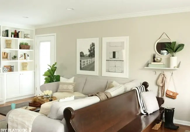 Fall Home Tour Pew Family Room