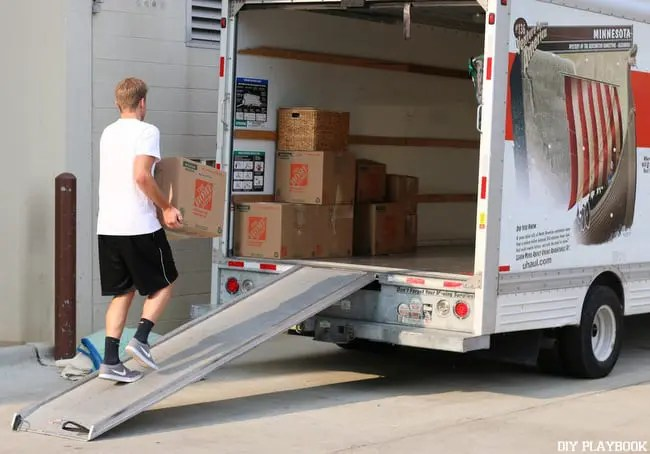 Loading up Uhaul