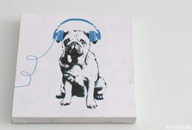 Z Gallerie-Art-Pug-Headphones-Ryan-Entry