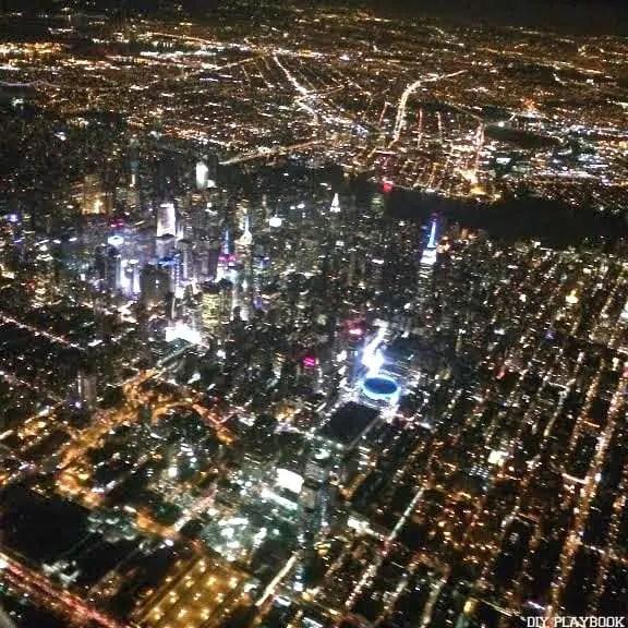 New York at Night NYC travel