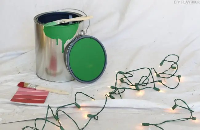 Paint Christmas Lights