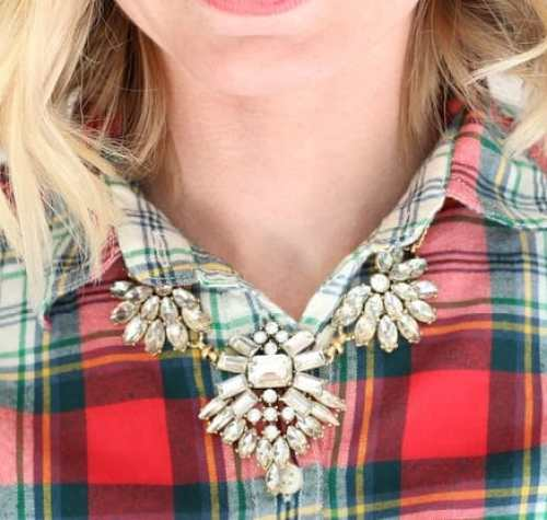 J. Crew Necklace Christmas
