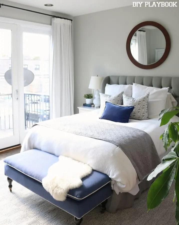 No-Sew Blackout Curtains for the Bedroom - DIY Playbook on Master Bedroom Curtains  id=83460