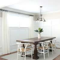 Dining Room Board and Batten Reveal