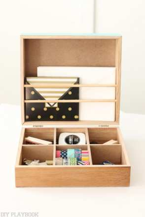 organize washi tape stamp mail envelopes michaels makers