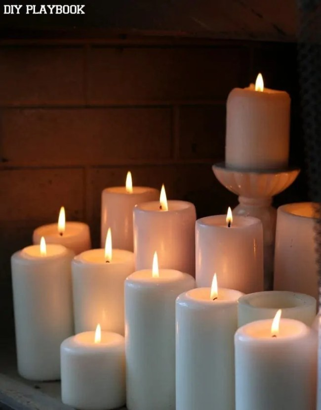 2-candles-fireplace-lit
