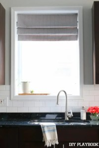 kitchen-sink-faux-roman-shade-window-treatment