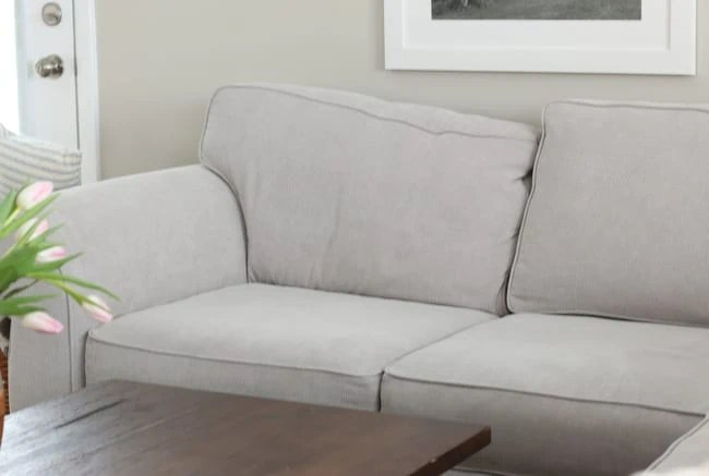 No Pillows Couch