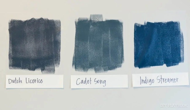 navy-paint-samples-on-wall