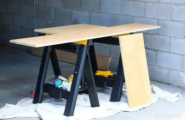 plywood-saw-horses