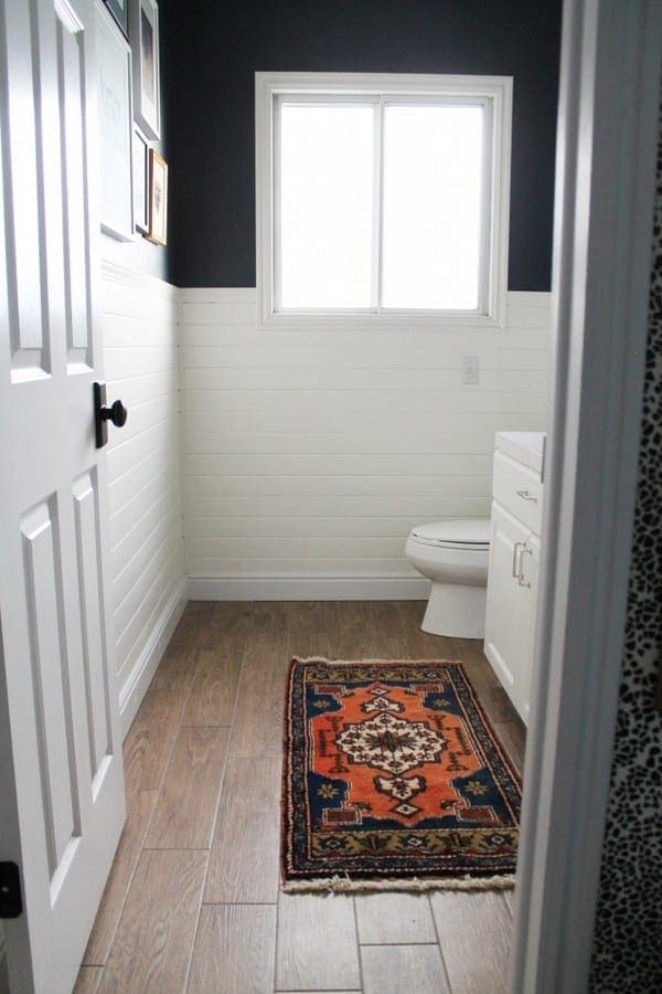 Bathroom Vanity Lighting And Shiplap
