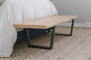 mid-century-modern-bench-black-wood