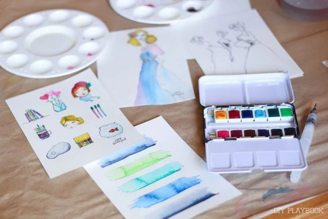 watercolor-craft-paint-carmel-michaels-makers