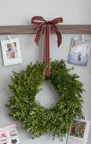 wreath-bow-display