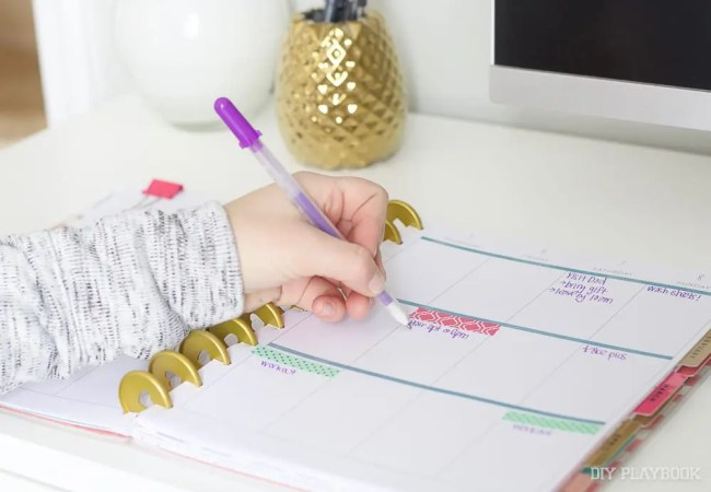 writing-planner-schedule