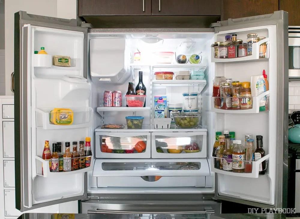 organize-fridge