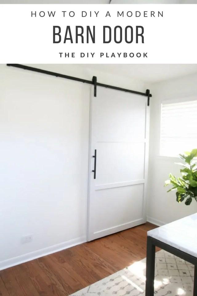 How to DIY a Modern Barn Door-2