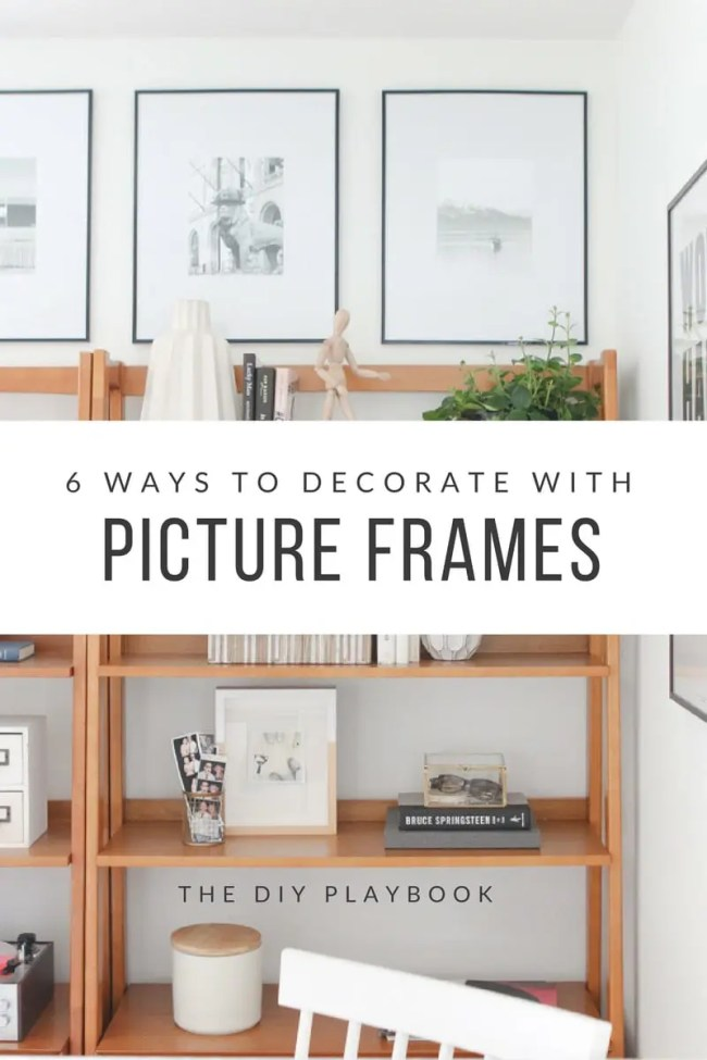How to Decorate with Frames