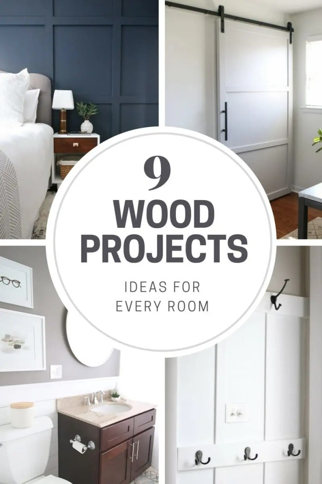 Wood Project Ideas for every room