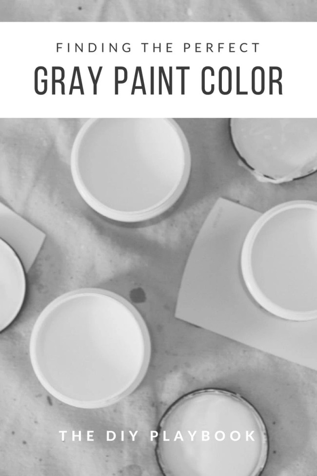 Gray Paint Color