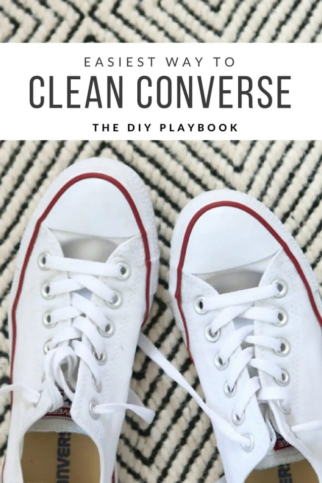 How to clean Converse