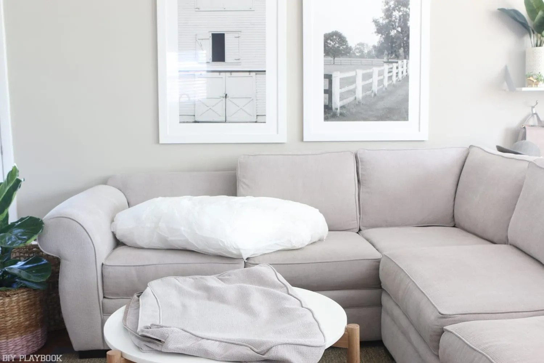devon fabric sectional sofa diy playbook