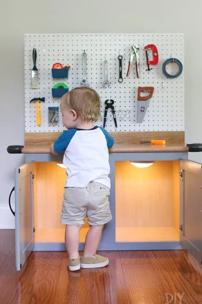 DIY Kid's Tool Bench