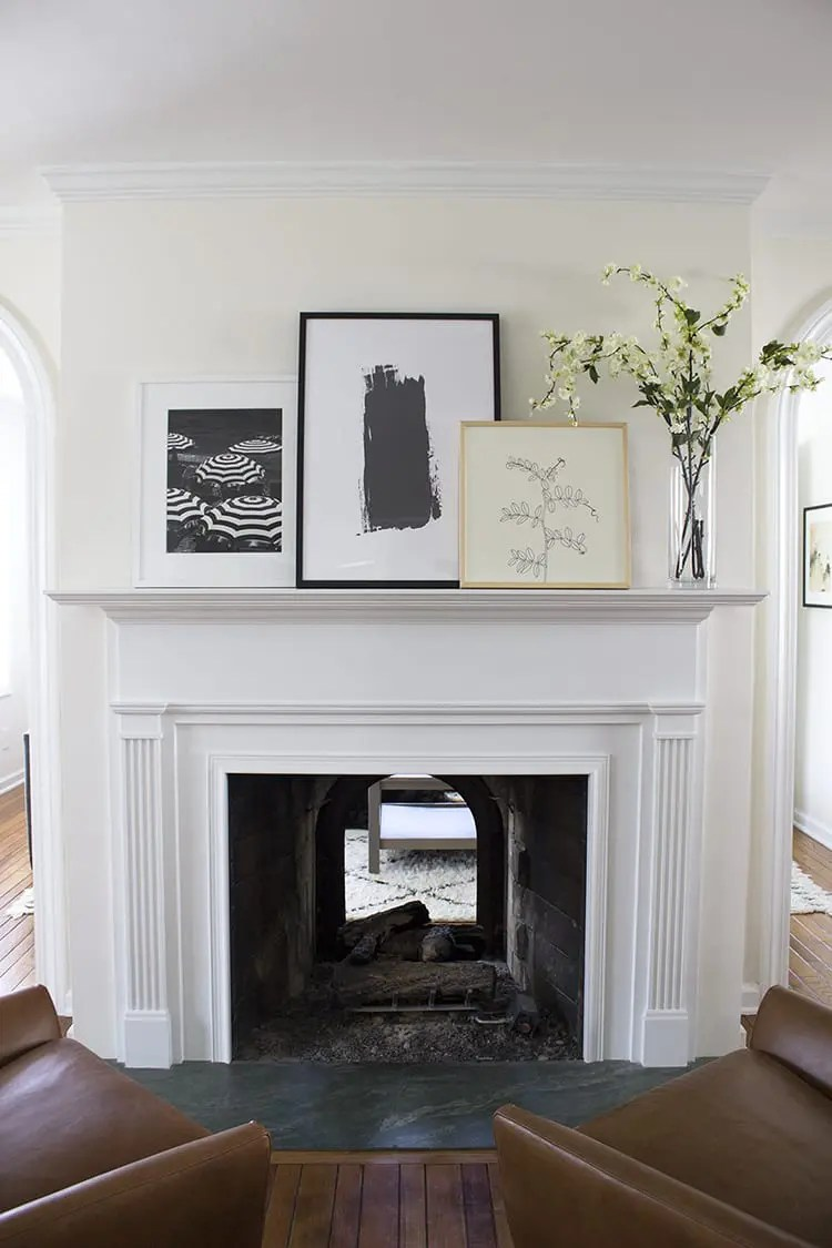 Rookie Mistake Decorating A Fireplace Mantel The Diy Playbook