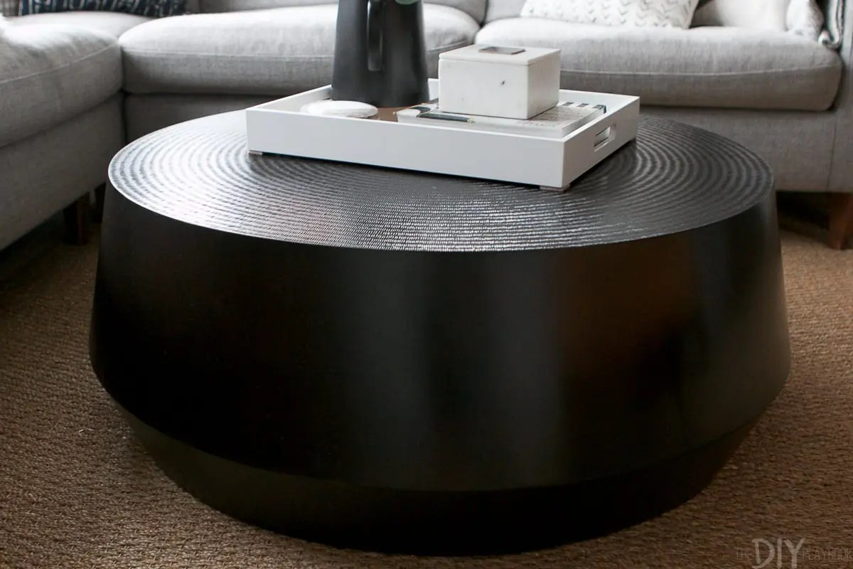 round coffee table for our living room