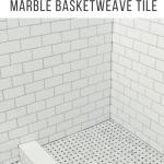 Tips And Tricks To Lay Marble Basketweave Floor Tile The Diy Playbook
