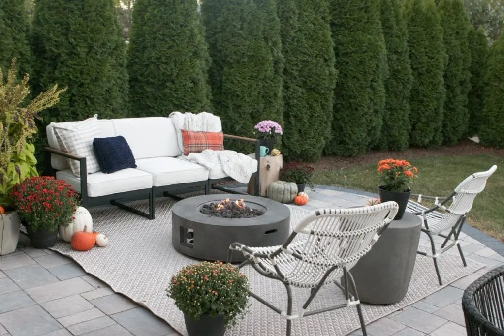 fall porch and patio decor ideas the
