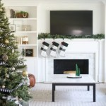 How To Decorate A Fireplace Mantel For The Holidays The Diy Playbook