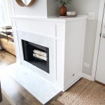 Diy Marble Fireplace Makeover The Diy Playbook