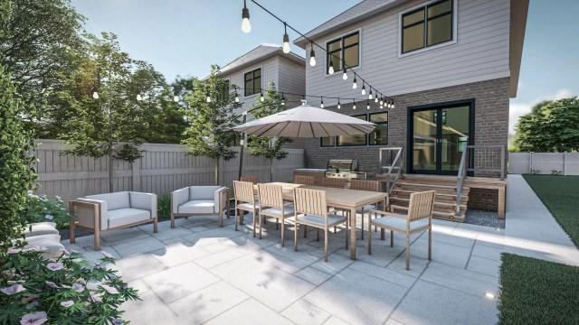 Our Yardzen backyard design plan