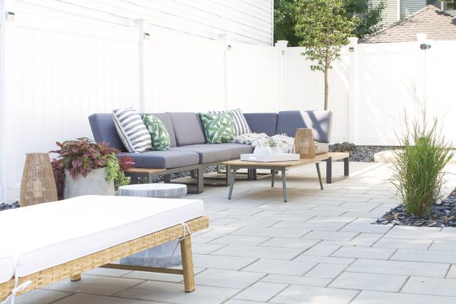 Our new outdoor sectional from Article