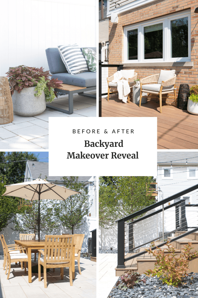 Our backyard makeover reveal