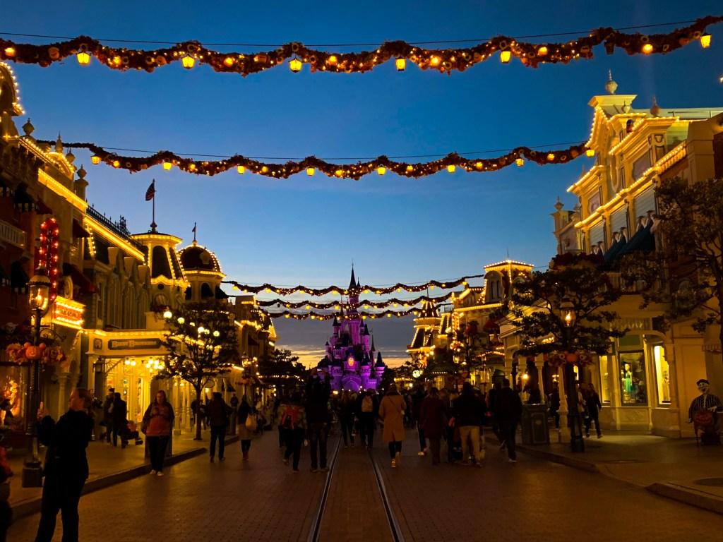 Disneyland Paris Halloween Garlands