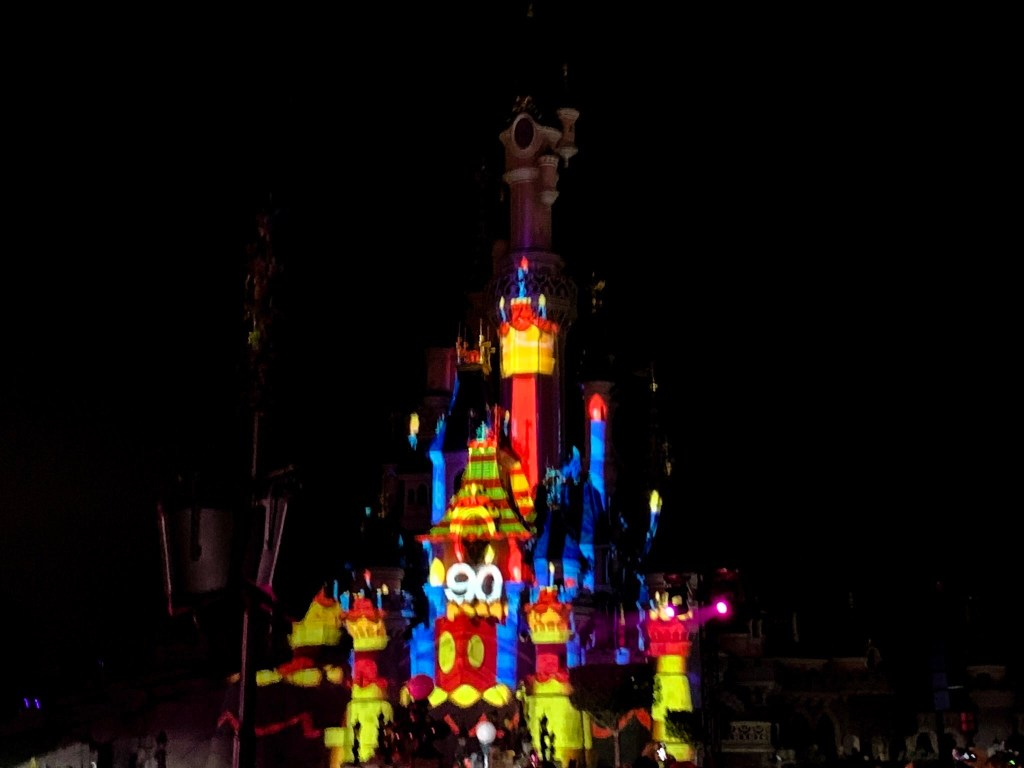 Mickey 90 Mouse Party castle