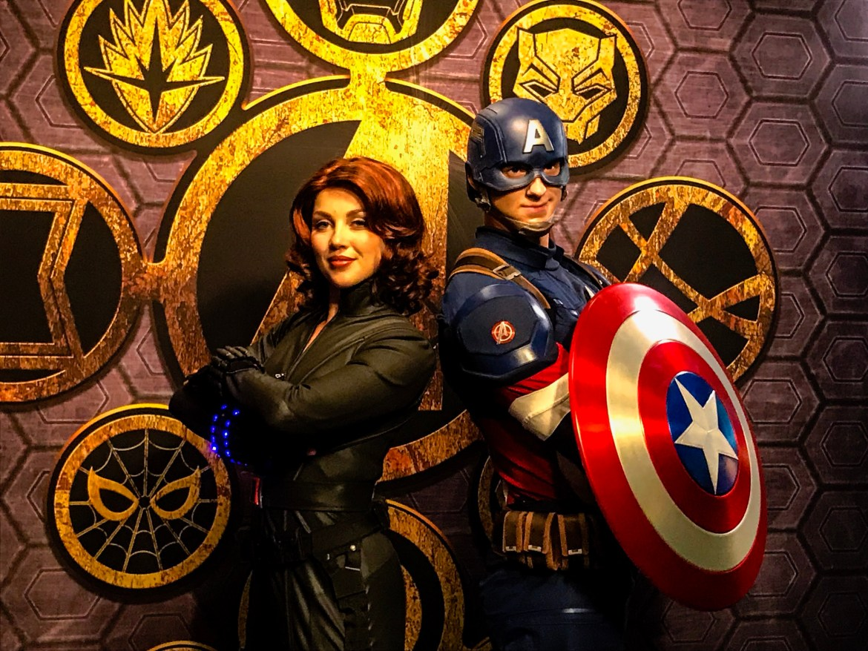 Disneyland Paris 2018 Marvel Signature