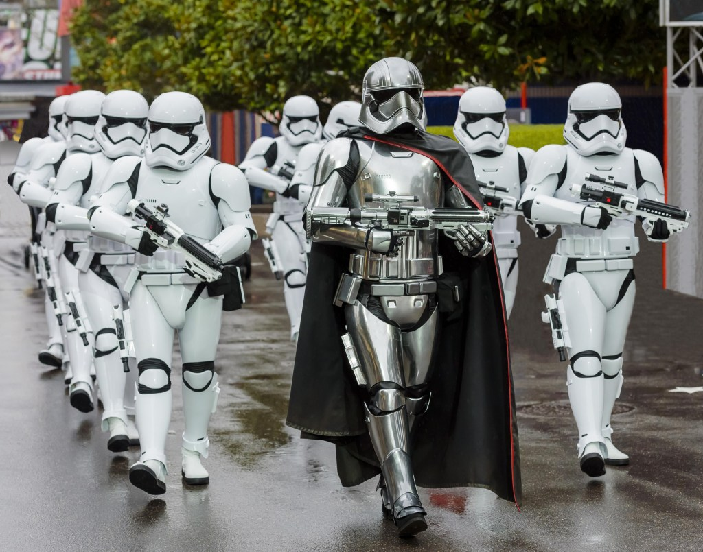 Legends of the Force March of the First Order