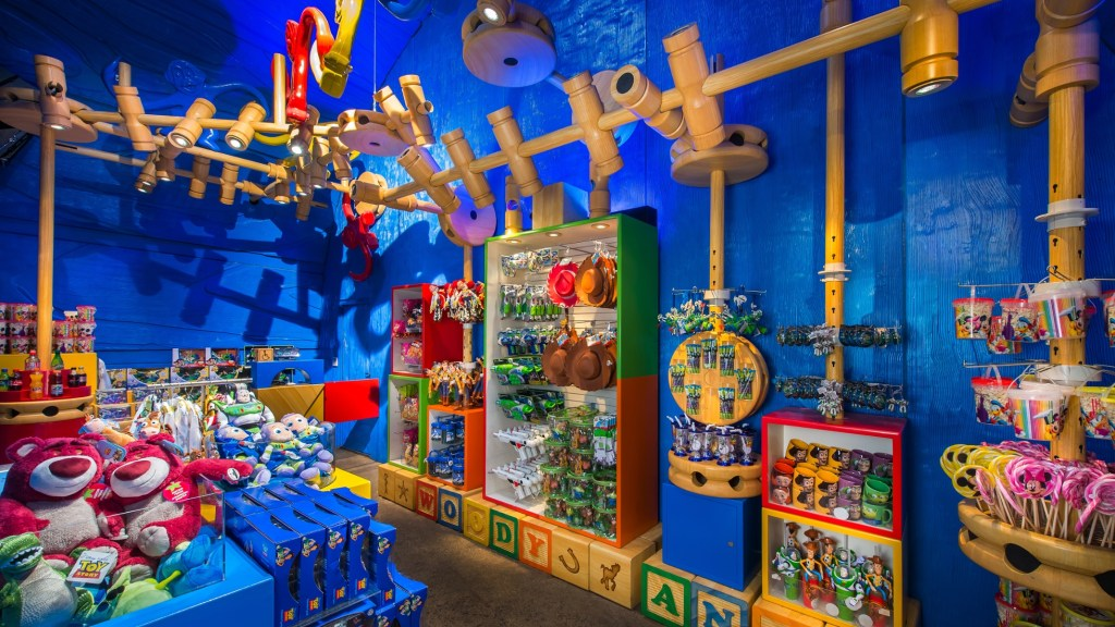 Toy Story Play Days shop